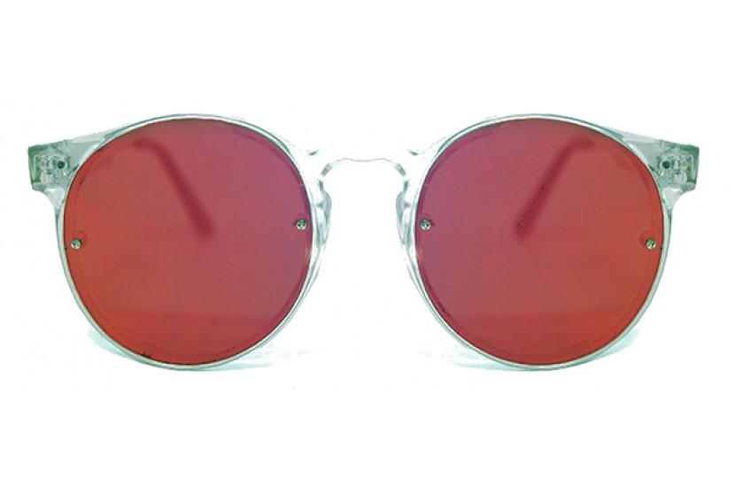Γυαλιά Ηλίου Spitfire POST PUNK Clear / red Mirror