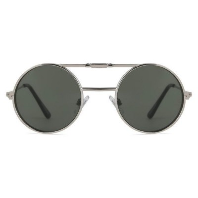 Γυαλιά Ηλίου Spitfire LENNON FLIP Silver & Clear / Green