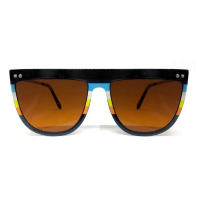 Γυαλιά Ηλίου Spitfire Echo Beach Black/Middle Rainbow/Bright Brown