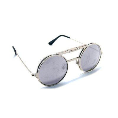 Γυαλιά Ηλίου Spitfire LENNON FLIP Silver & Clear / Silver Mirror